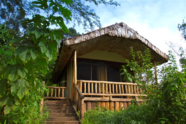 The Engagi lodge